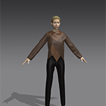 Marvelous Designer Asymmetrical Jacket