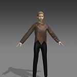 Marvelous Designer Asymmetrical Jacket