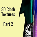 3D Cloth Textures in Blender - Part 2