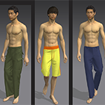Pants in Marvelous Designer