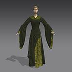 LOTR Eowyn's Gown in Marvelous Designer